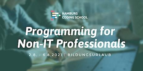 Bildungsurlaub: Programming for Non-IT Professionals Tickets