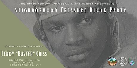 Neighborhood Treasure Block Party tickets