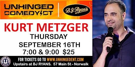 Unhinged Comedy presents: Kurt Metzger tickets
