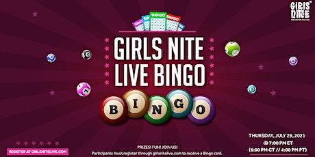 Girls Nite LIVE Bingo tickets