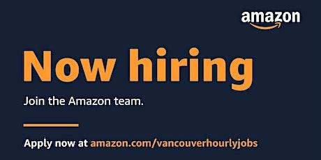 Amazon Greater Vancouver Job Fair tickets