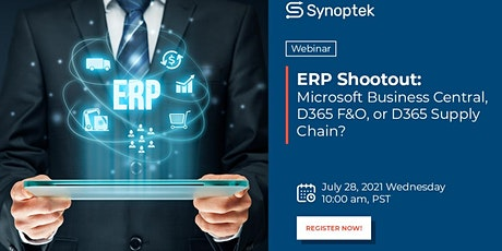 ERP Shootout: Microsoft Business Central, D365 F&O, or D365 Supply Chain? tickets