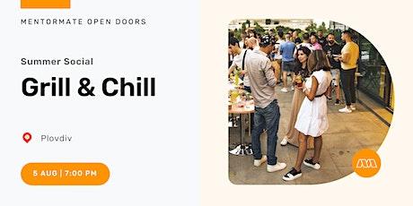 MentorMate Summer Social: Grill & Chill in Plovdiv tickets