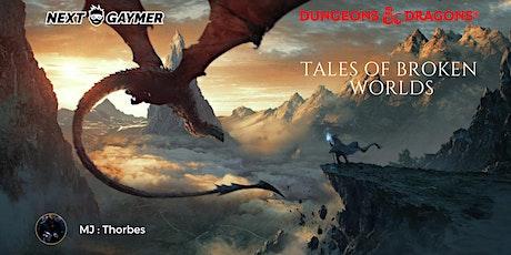 D&D5 - Tales of Broken Worlds : Kensei's fate - par Thorbes billets