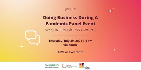 Doing Business During A Pandemic Panel Event tickets