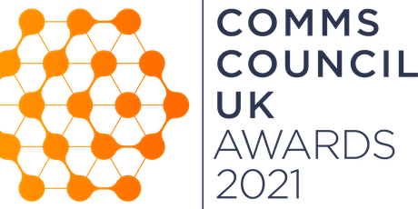 Comms Council UK Awards 2021 tickets