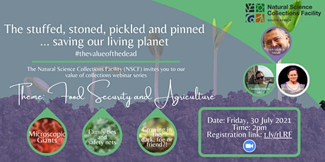 Webinar | The stuffed, stoned, pickled and pinned saving our living planet tickets