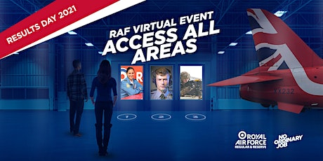 RAF Virtual Event Access All Areas - Exam Results 2021 tickets