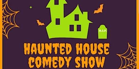 Haunted House Backyard Comedy Show tickets
