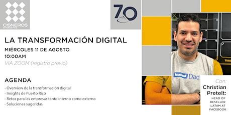 La Transformación Digital entradas
