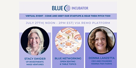 BLUE Incubator Virtual Summer Social #1 tickets