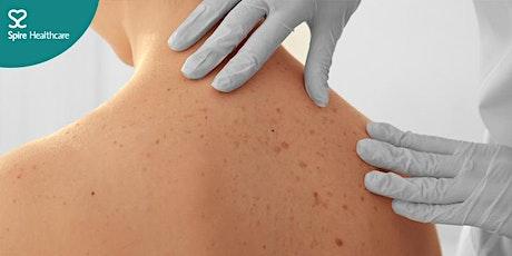 Virtual dermatology educational evening tickets