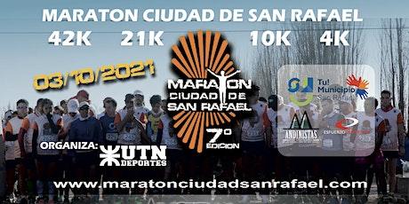 Maratón Ciudad de San Rafael 2021 entradas