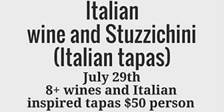 Italian Wine Tasting and Tapas tickets