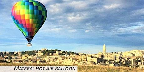 Matera: hot air balloon biglietti
