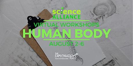 Human Body Week - Virtual Science Alliance  Workshops tickets