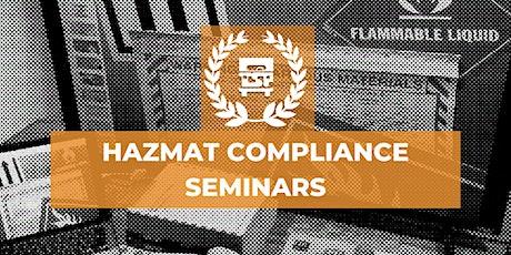 Pacific Time Zone  HazMat Compliance Seminars  -11/18 ingressos