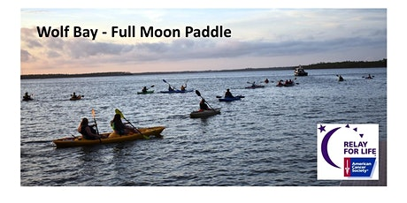 Wolf Bay - Full Moon Paddle tickets