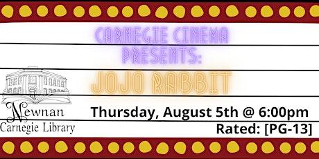 Carnegie Cinema: Jojo Rabbit [PG-13] tickets