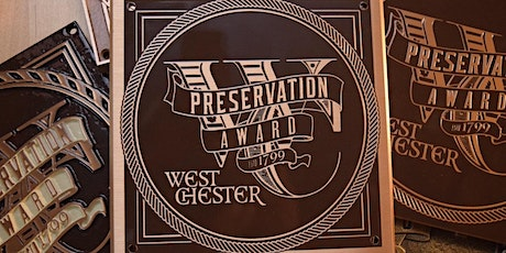 West Chester Preservation Awards Ceremony and Reception 2021 tickets