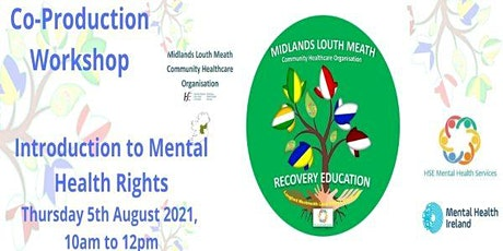 Co-Production Workshop - Introduction to Mental Health Rights tickets