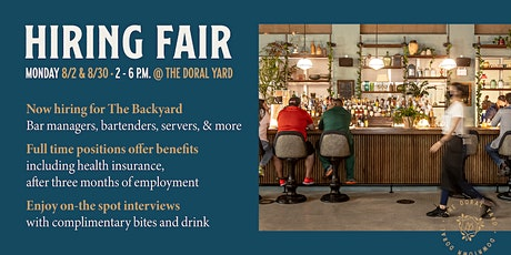 Hiring Fair at The Yard tickets