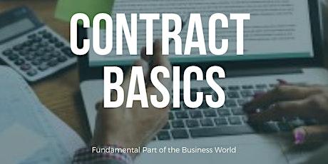 Contract Basics - Webinar tickets