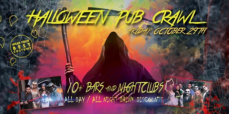 SAN DIEGO PRE HALLOWEEN PUB CRAWL - OCT 29th tickets