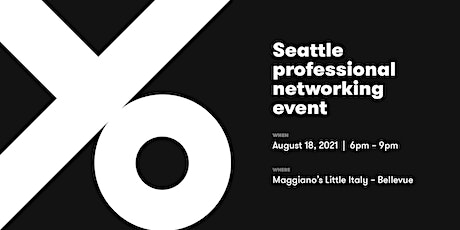 Seattle/Bellevue Local Business and Professional Networking Event tickets