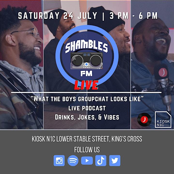Shambles FM: Live image