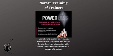Narcan Training of Trainers tickets