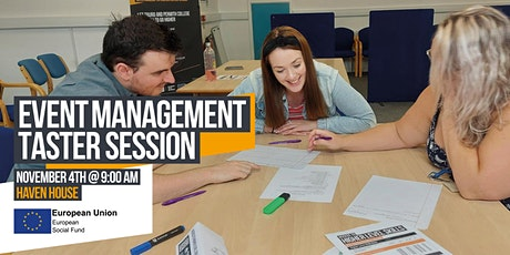Event Management Taster Session tickets