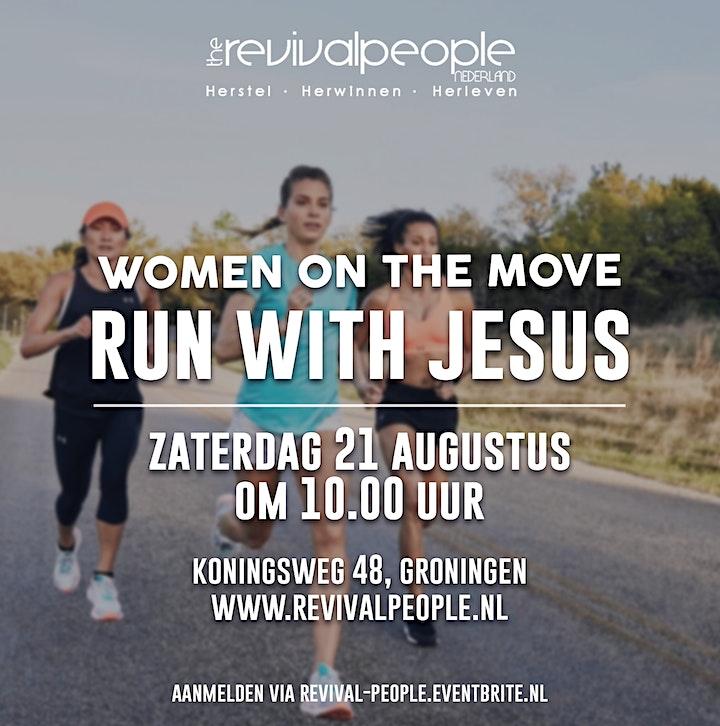 Afbeelding van RPN - Vrouwendag - Women on the move - Run with Jesus