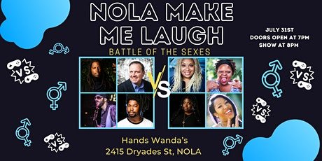 Nola Make Me Laugh: Battle of the Sexes tickets