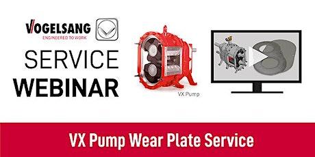 Service Training Webinar: VX Pump Wear Plate Service tickets