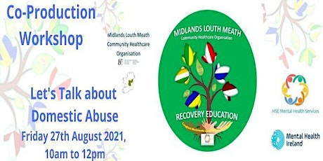 Co-Production Workshop - Let's Talk about Domestic Abuse tickets