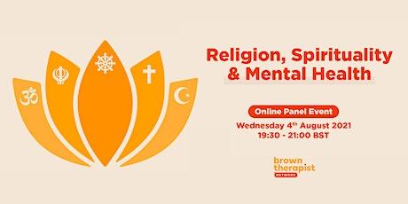 Religion, Spirituality & Mental Health tickets