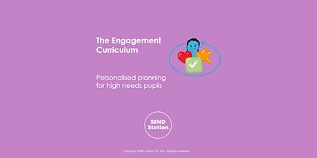 The Engagement Curriculum - Personalised planning for high needs tickets