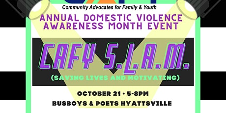CAFY S.L.A.M. Event tickets