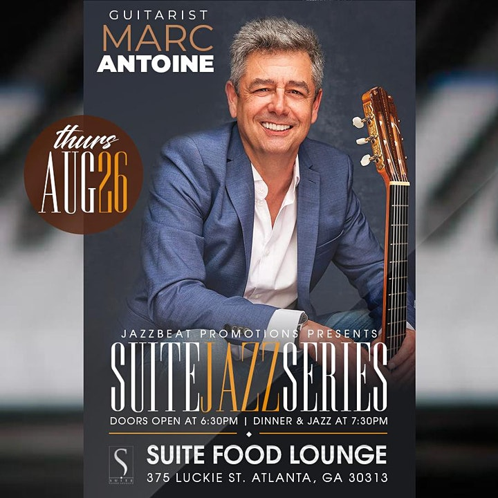 Marc Antoine  Live at Suite image
