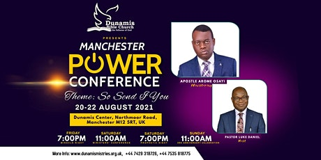 Manchester Power Conference 2021 tickets
