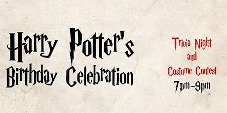 Harry Potter's Birthday Trivia Night tickets