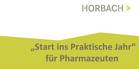 Start ins Praktische Jahr für Pharmazeuten Tickets