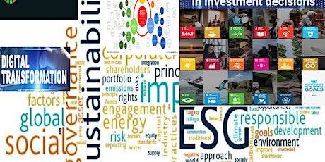 ESG Digital Transformation for Material Sustainability Impact Webinar biglietti
