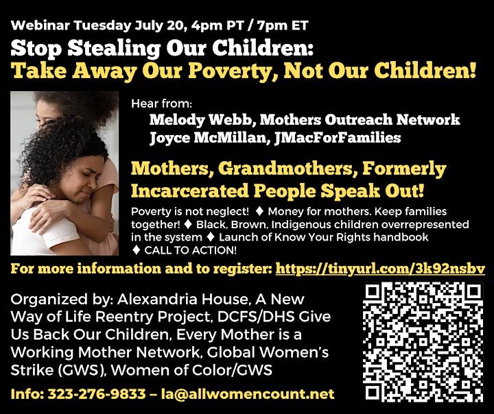 Stop stealing our children: Take away our poverty not our children image