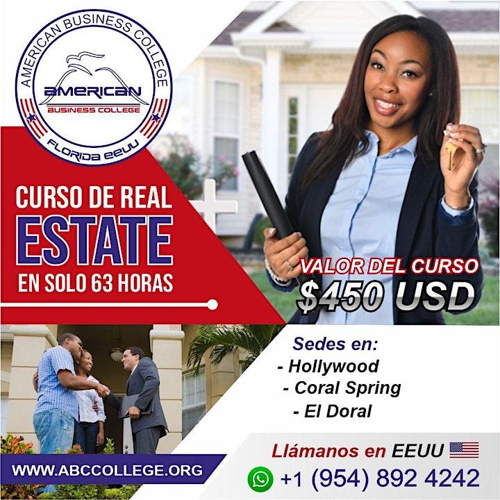 Imagen de Curso de Real Estate en Español, Inscripciones abiertas