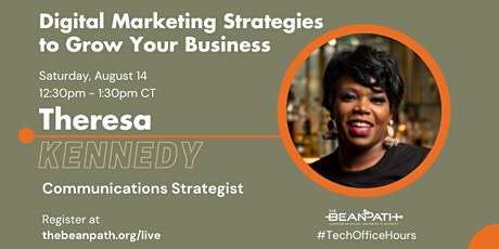 Digital Marketing Strategies for Small Businesses | Hosted by The Bean Path tickets