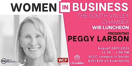 Women in Business Luncheon with Peggy Larson tickets