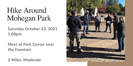 Hike around Mohegan Park tickets