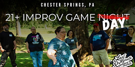 FREE: 21+ In-Person Improv Game Night! tickets
